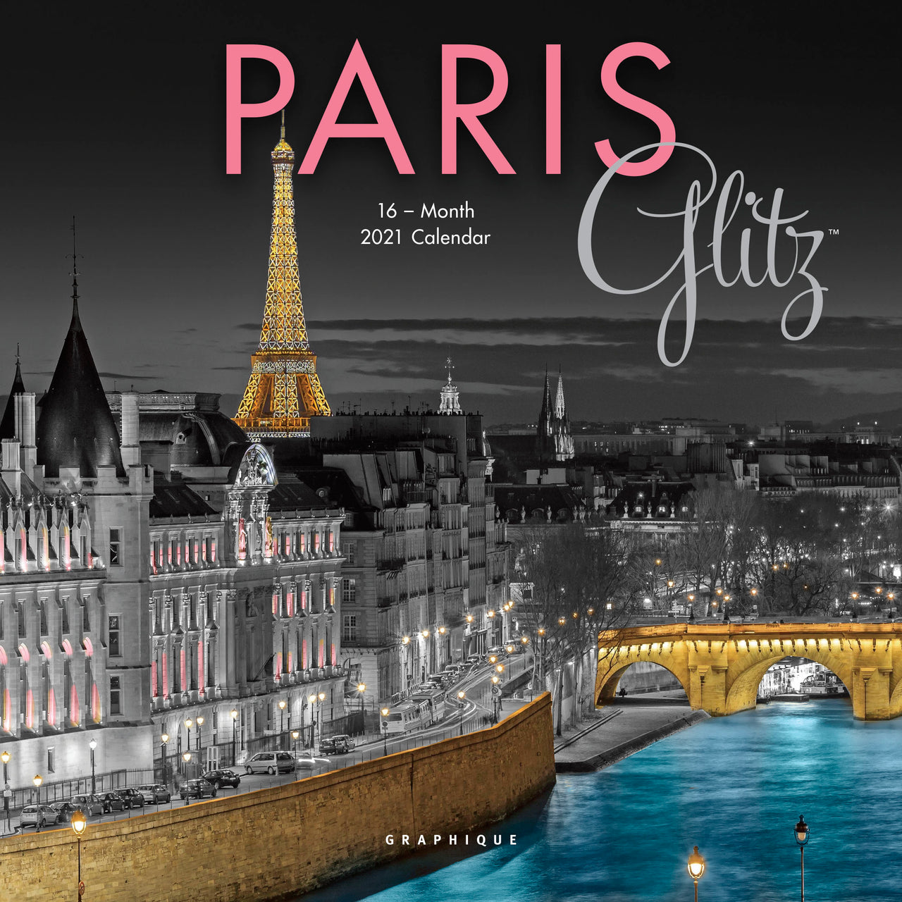 Paris Glitz Mini Calendar