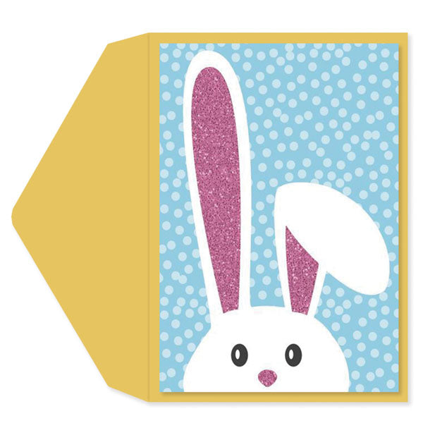 Bunny Ears Easter Card