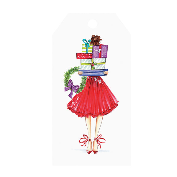 Fashionista Gifts Holiday Single Gift Tags