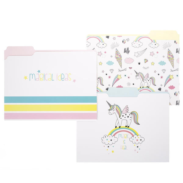 Magic Unicorn File Folder Set
