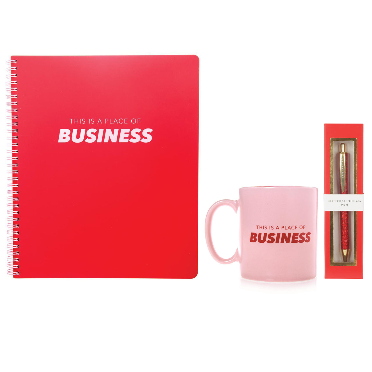Place of Business Desk Set Notebook