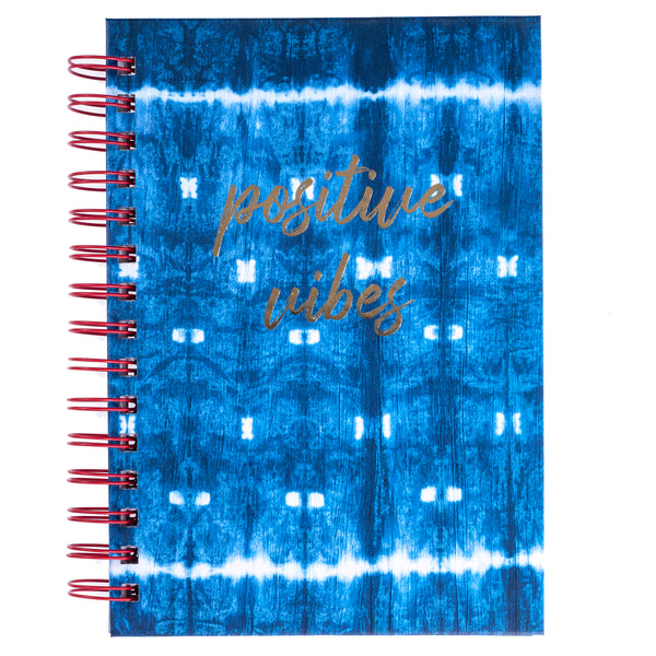 Shibori 6x8 Spiral Hard Cover Journal