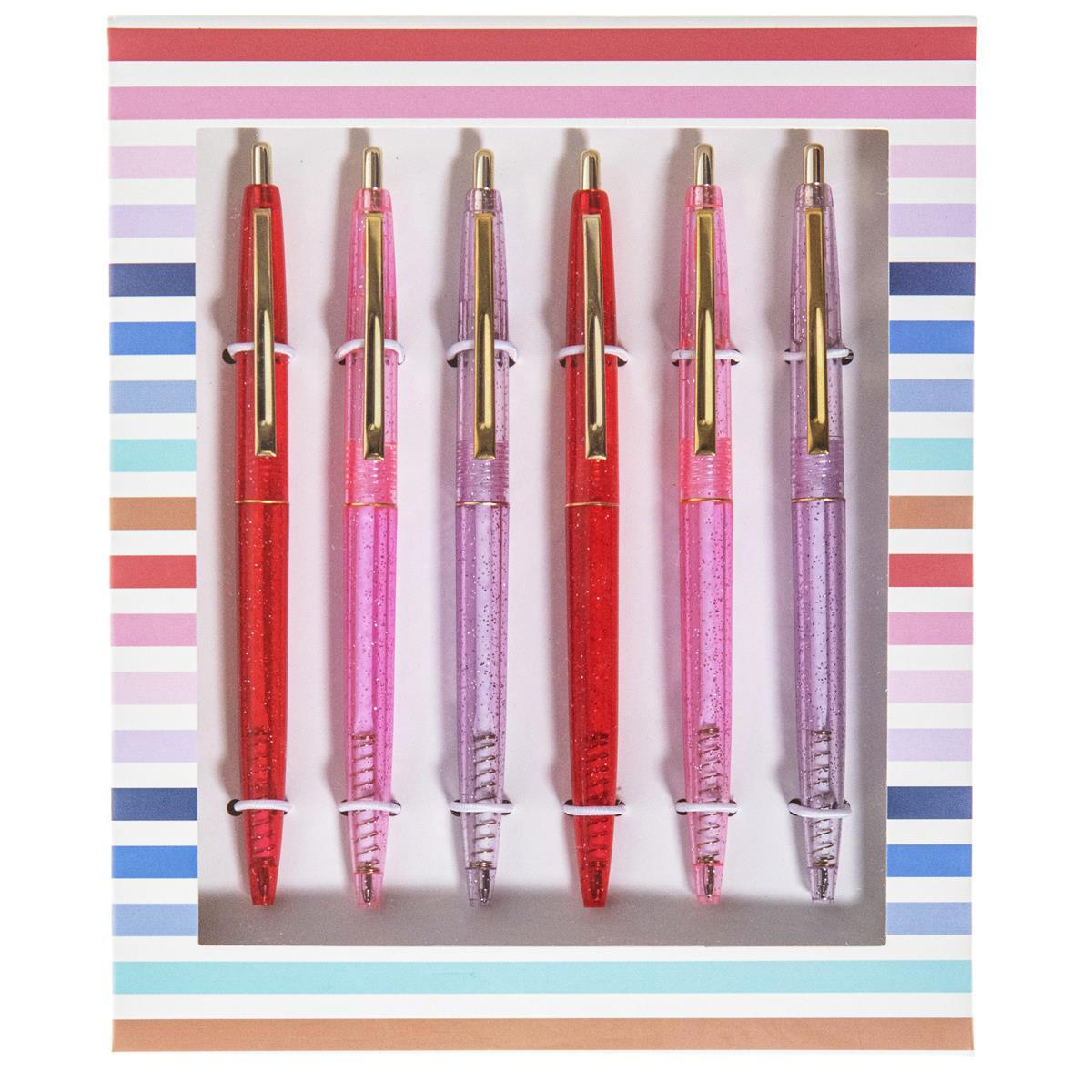 Pink Pen Set of 6