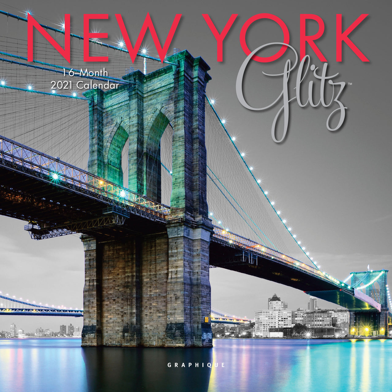 New York Glitz Mini Calendar