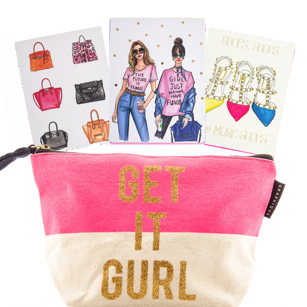 Graphique Fashion Girl Stationery Set ($32.00 Value)