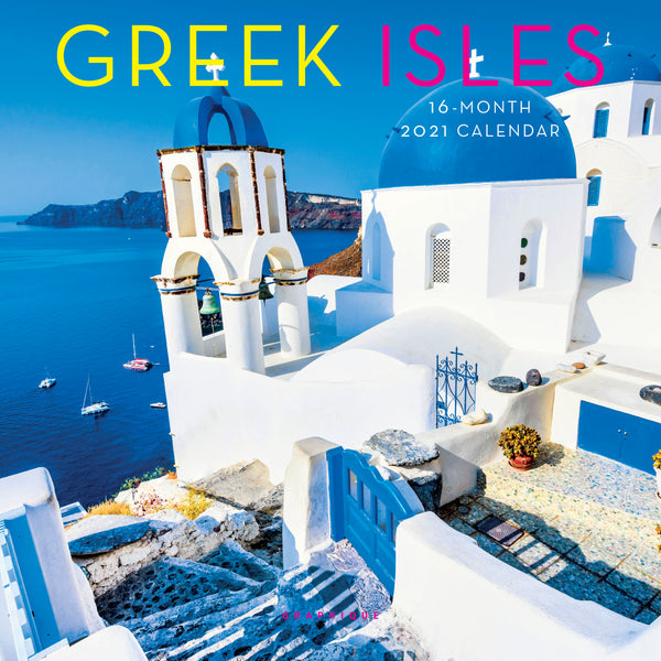 Greek Isles Mini Calendar