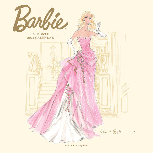Barbie Wall Calendar