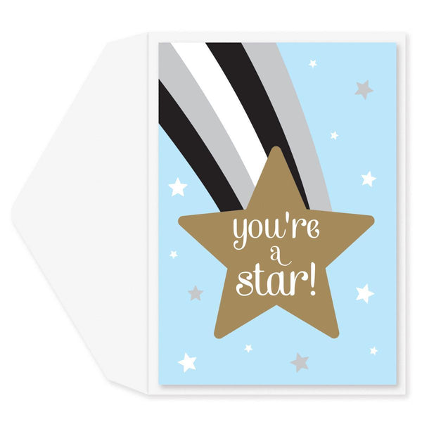 You're A Star Graduation Card