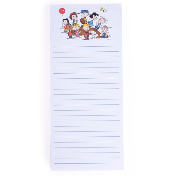 Peanuts™ Gang Magnetic Notepad