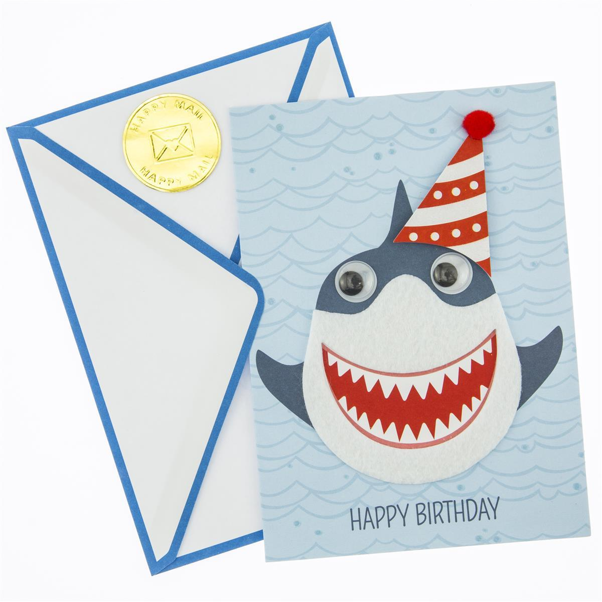 Shark Bite! Birthday Handmade Card