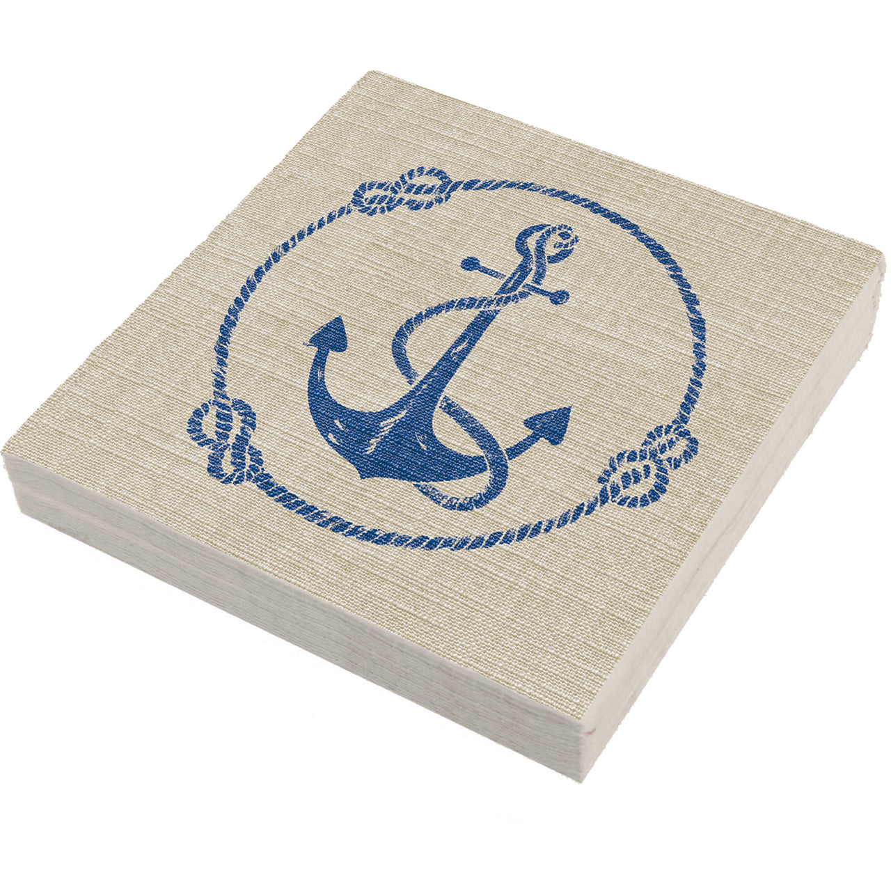 Linen Anchor with Rope Napkins