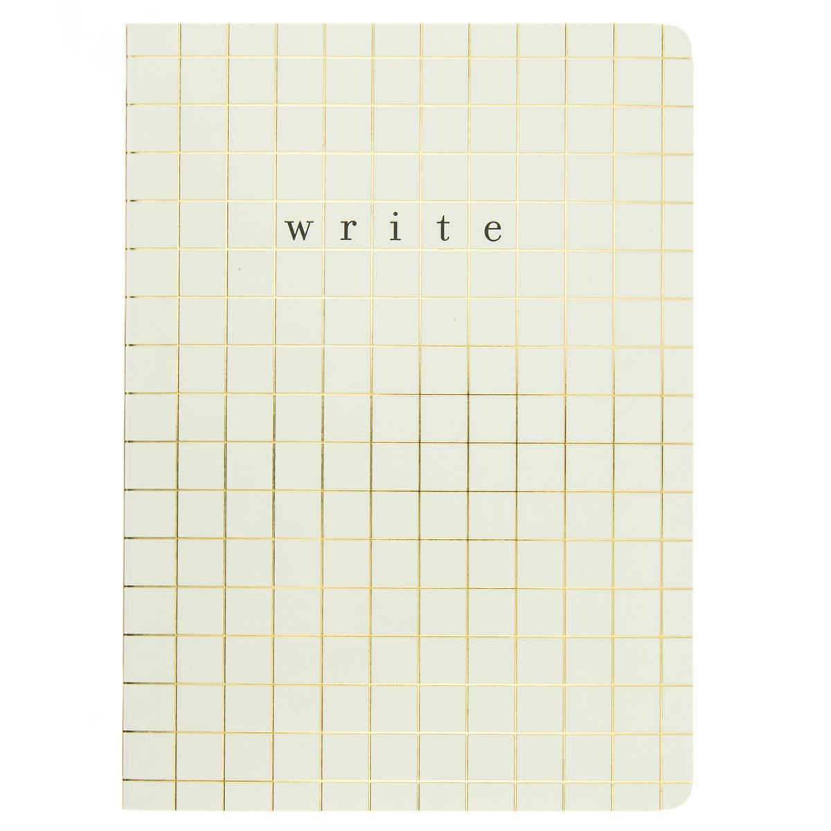 Grid Lines Soft Cover Journal