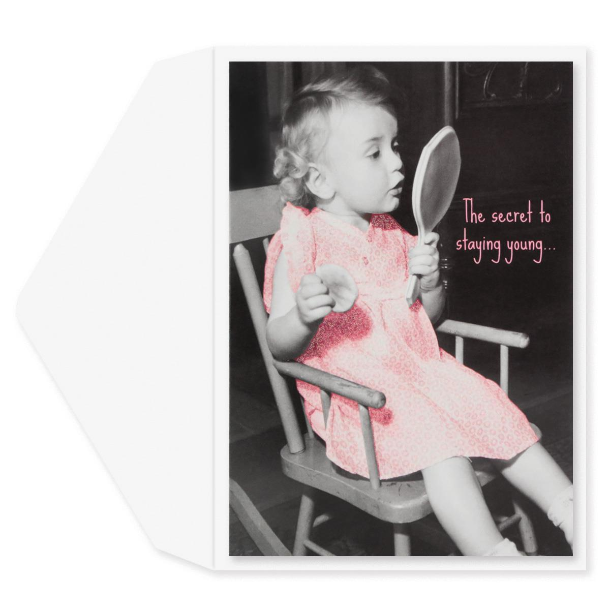 Mirror Mirror Birthday Card