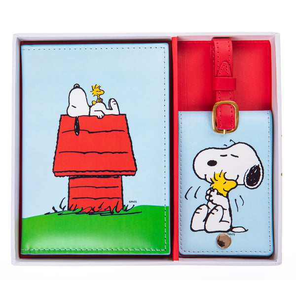 Peanuts™ Passport Case & Luggage Tag Set