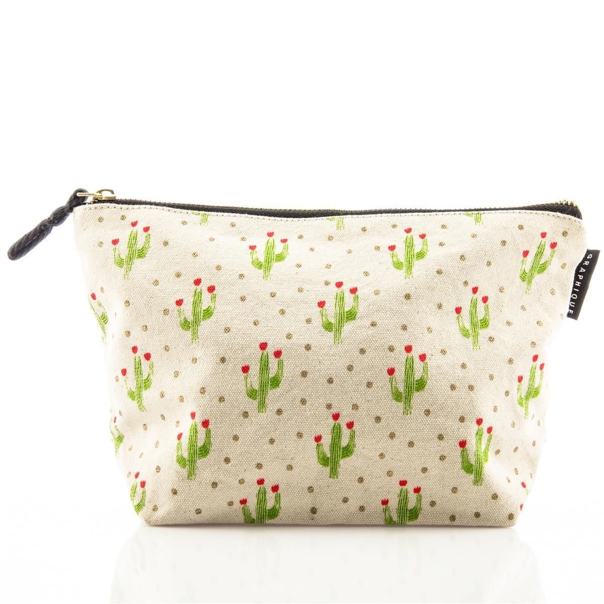 Cactus Medium Zip Pouch