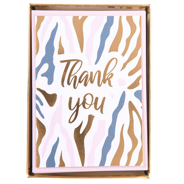 Zebra Print Boxed Cards