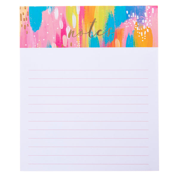 Brush Stokes Jotter Notepad