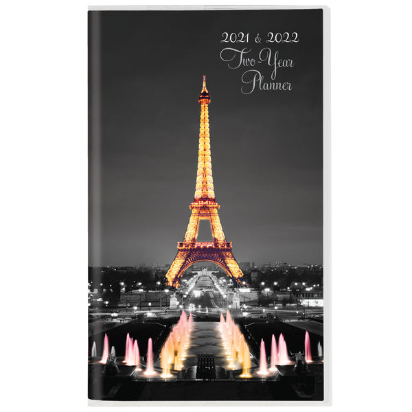 Paris Glitz 2 Year Planner