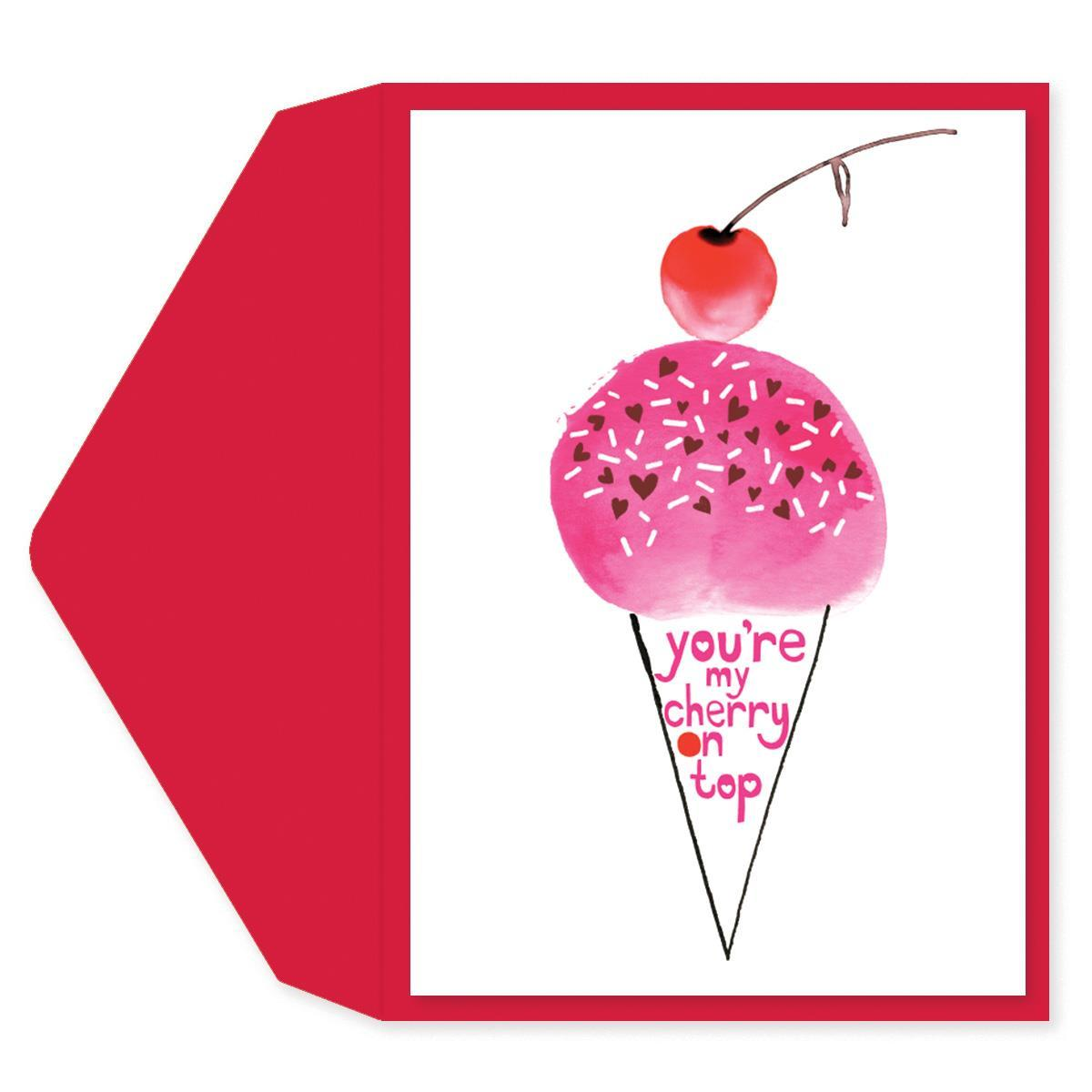 Cherry On Top Anniversary Card