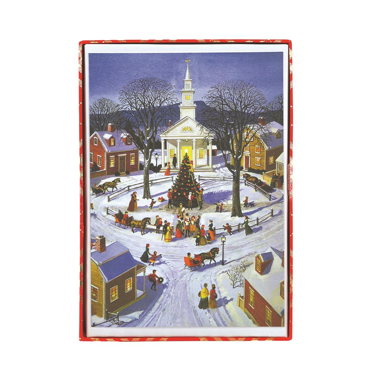 Town Square Holiday Large Boxed Cards