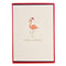 Christmas Flamingo Holiday Petite Boxed Cards