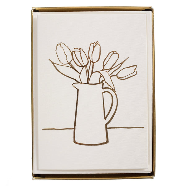 Simple Floral Boxed Cards