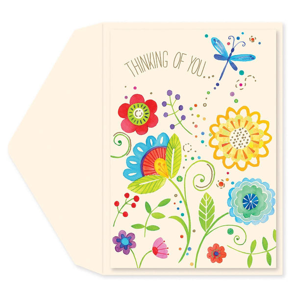 Rhapsody Dragonfly Friendship Card