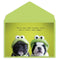Frenchie Frogs Friendship Card