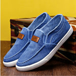 Outdoor Solid Footwear Vulcanize Shoes Comfortable Men's Flats Canvas Shoes