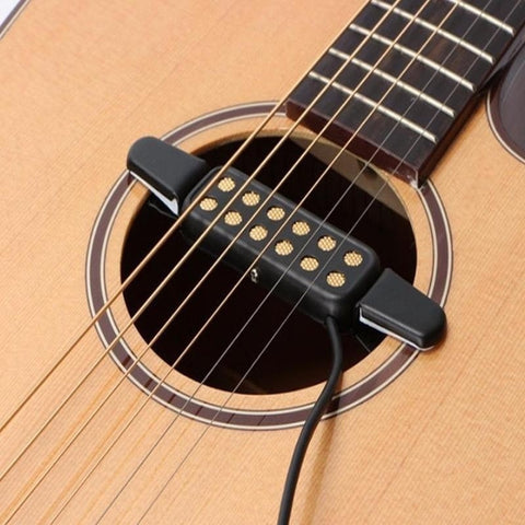 Acoustic Guitar Pickup Sound Hole Classical Connect Amplifier Pickup Musical Instruments