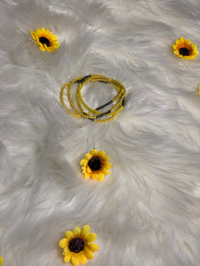 Sunflower Waist Beads