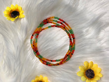 Load image into Gallery viewer, Sunflower Waist Beads