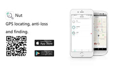 Bluetooth inalámbrico Nut Find Lost & Found Network Smart Anti Lost Alarm para teléfono Android IOS - Dileblue