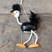 Goki Marionette Wooden Ostrich Puppet - Domestic Science LTD