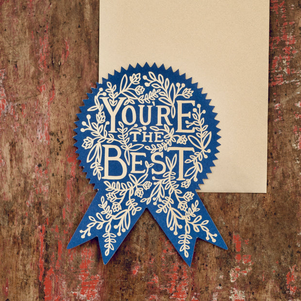 Rifle Paper Co You're the Best Card - Domestic Science LTD