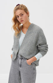 East Cardigan - Heather Grey