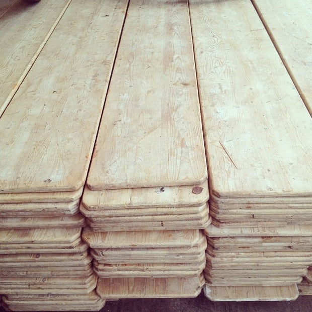 Reclaimed Antique Pine Boards - Domestic Science Home