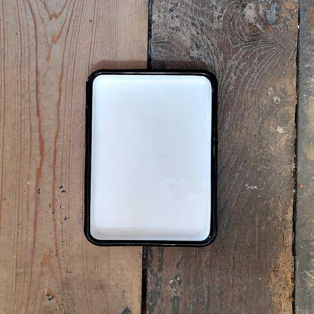 Enamel Tray - Domestic Science Home
