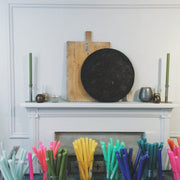 Colourful Dinner Candles - Domestic Science LTD