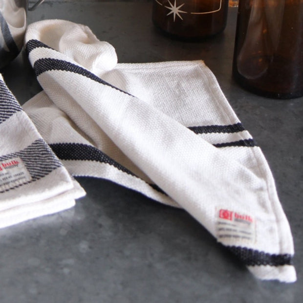 Cotton Hand Towel / Narrow Stripe