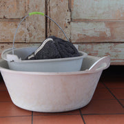 Recycled Sole Rubber Bucket Round Flat
