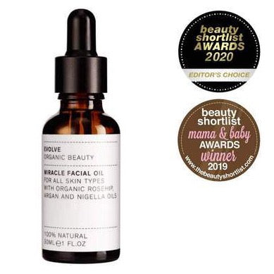 Evolve Organic Beauty Miracle Face Oil - Domestic Science Home