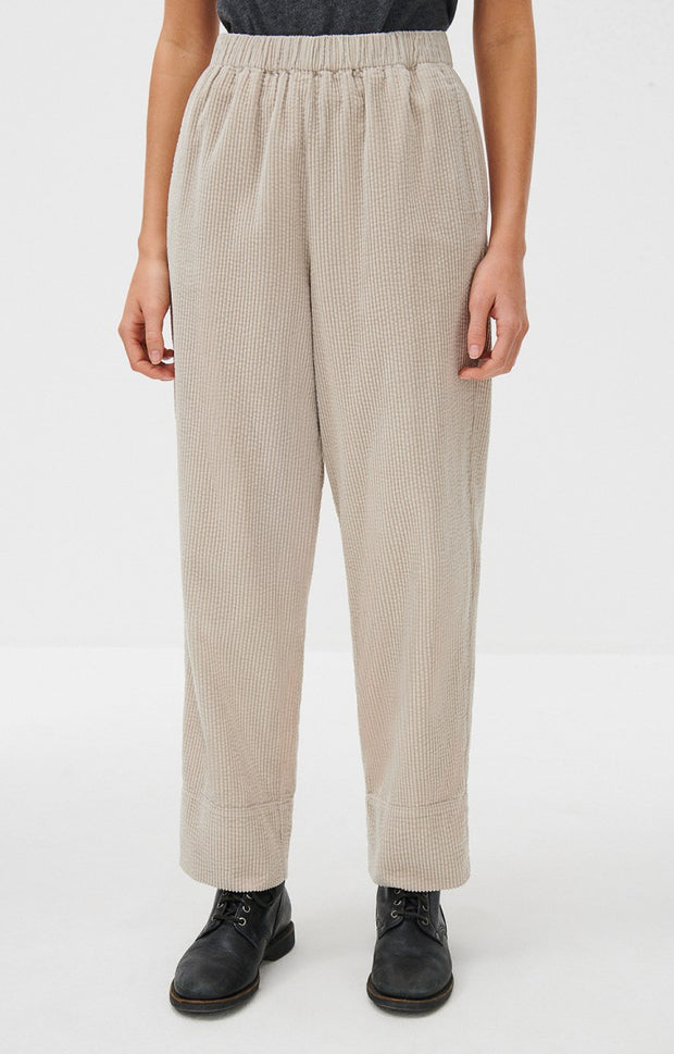 Padow Corduroy Trousers - Mastic