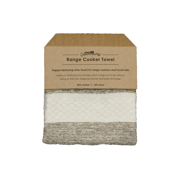 Popper Aga Towel / White