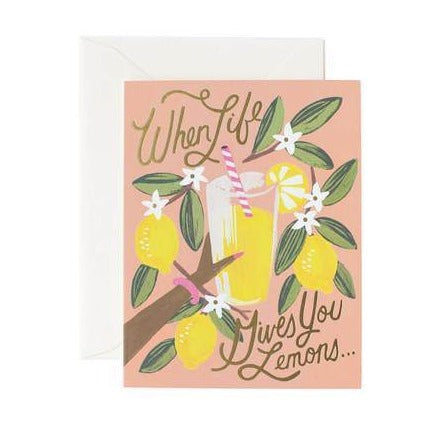 Rifle Paper Co When Life Gives you Lemons Card