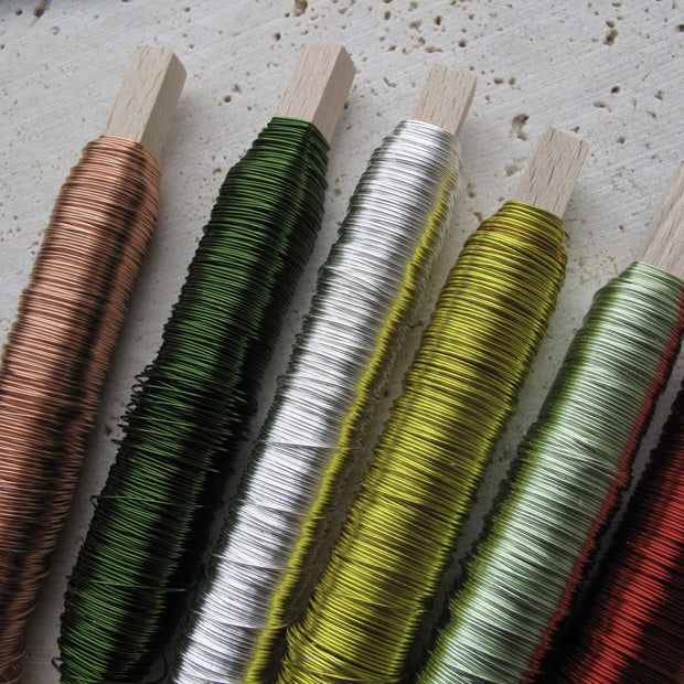 Spool of Coloured Wire