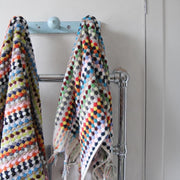Hand Woven Multicoloured Bath Towel