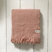 Pink Waffle Towels