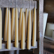 Pair of Beeswax Candles - Domestic Science LTD