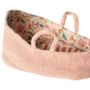Maileg Carry Cot Misty Rose